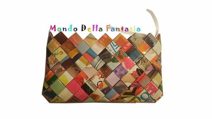 """Portafoglio """"Color"""" fatto a mano, by Mondo della Fantasia, 12,00 € su misshobby.com"""