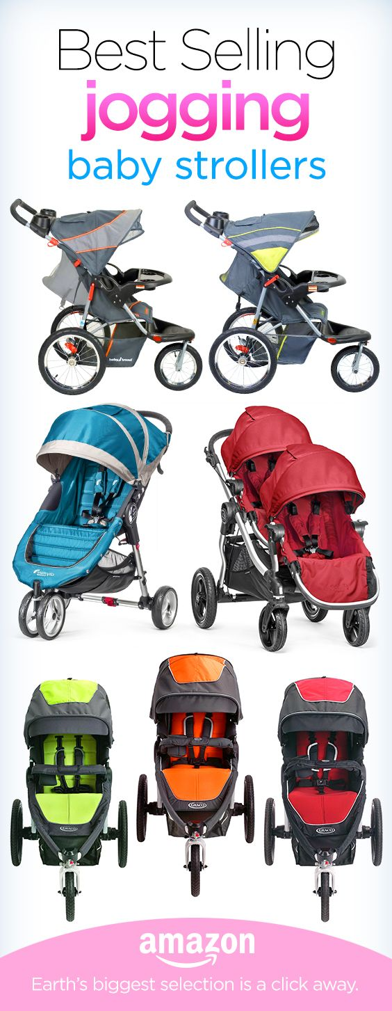 Do you love to run? Get outside with the family this spring with the perfect running stroller? Click to see all of the bestselling jogging strollers on Amazon.