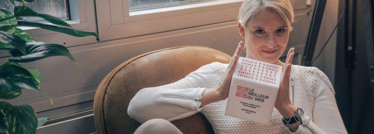 La codirectrice de la société vaudoise a été «Femme digitale de l'année» lors de la remise des prix du Meilleur du Web