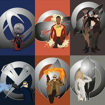 Legends of Tomorrow Fan art By Marquis Draper