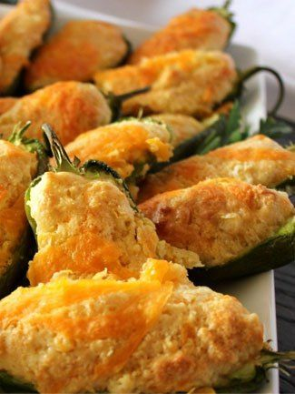Jalapeno Cornbread Poppers #appetizers