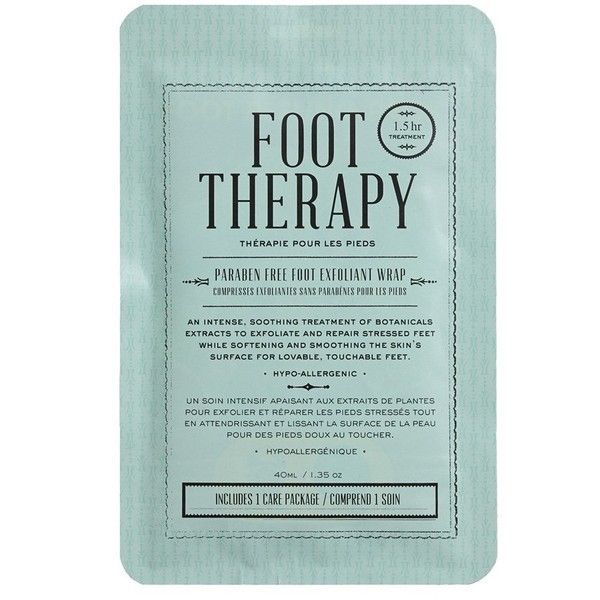 Women's Kocostar Foot Therapy Foot Exfoliation Wrap ($9.14) ❤ liked on Polyvore featuring beauty products, bath & body products, fillers, beauty, cosmetics and makeup