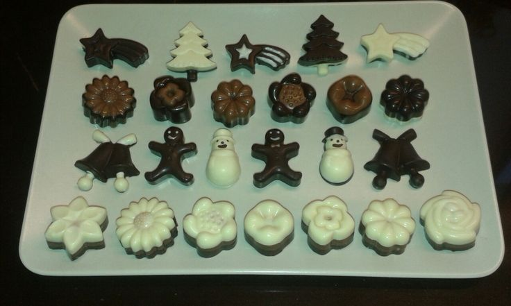 Cioccolatini vari gusti e forme