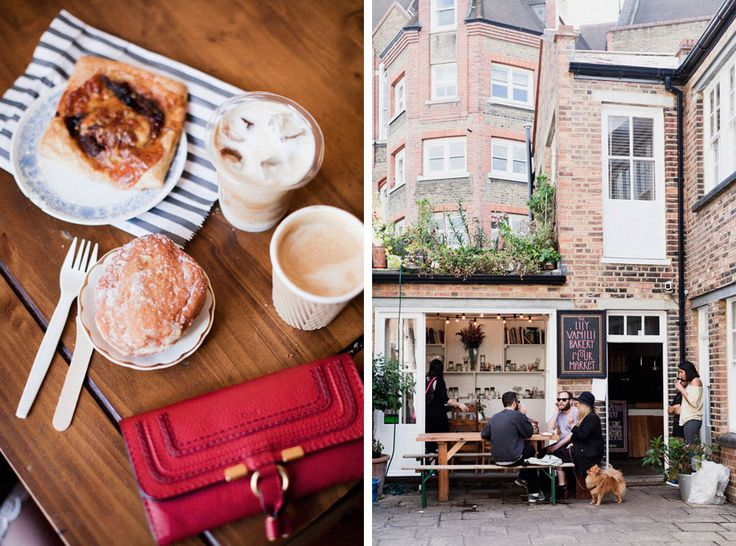 Lily Vanilli Bakery in London. Photos by Park and Cube. (via @Brittany Horton Moody Julious): Paris, Parks And Cubes, Vanilli Bakeries, Lilies Vanilla, Dreams Biz, Cafe, Chloe Wallets, Red Wallets, Flower