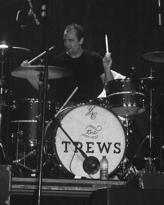 Gavin Maguire of the Trews, Kempenfest, Barrie, ON, Aug 4/17. Taken by us.