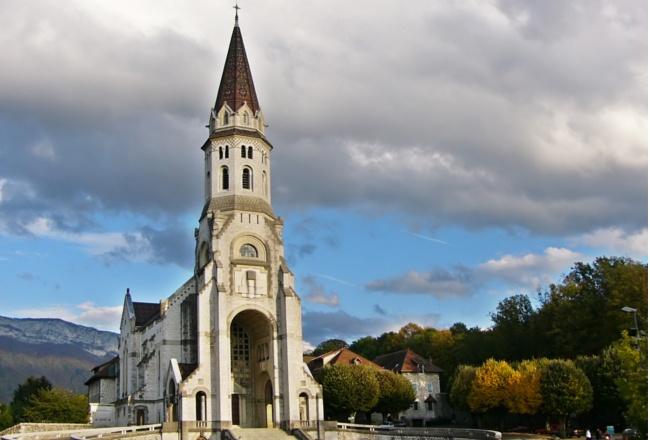 Basilique de la Visitation à Annecy © G.Bourmault / Annecy Tourisme