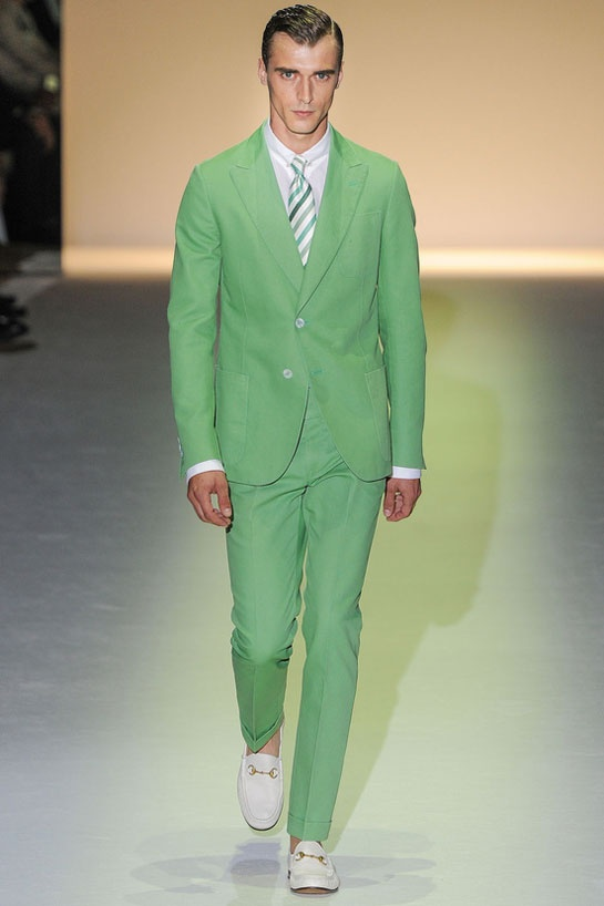 #Gucci #mfw #mint #suit #ss13