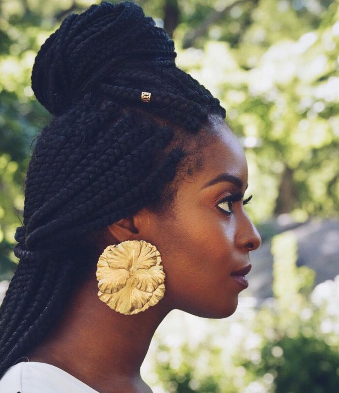 Natural Hairstyles For Thin Edges Magnificent 275 Best  Braids Style  Images On Pinterest  Hair Dos Natural