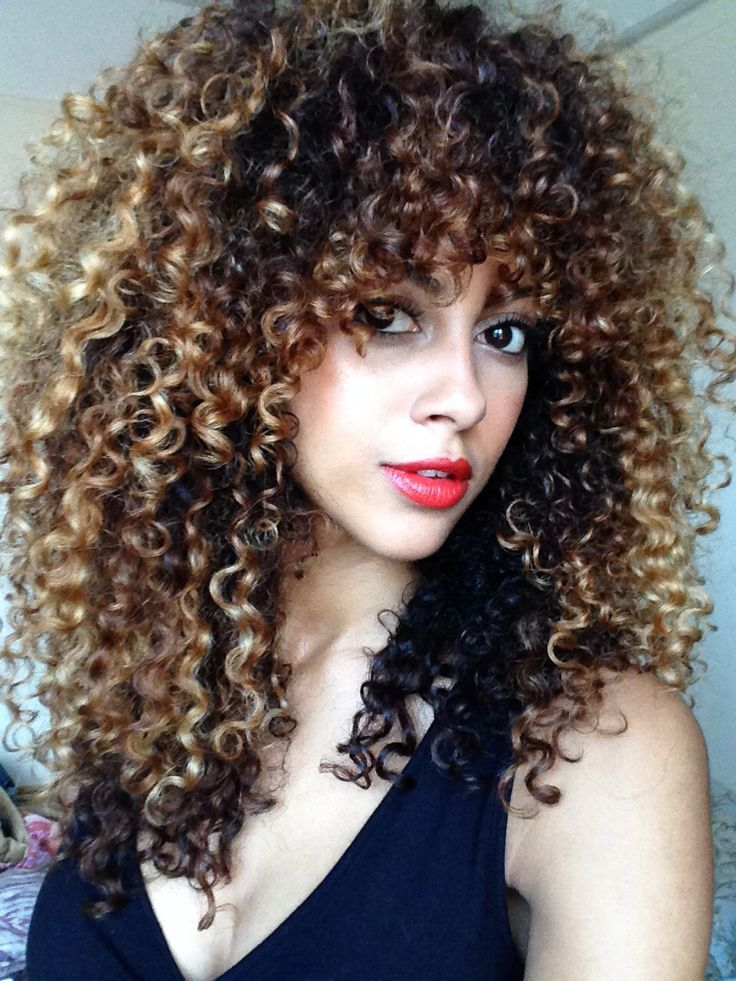 Curly Hair My Wash N Go S Pinterest Curly Curly