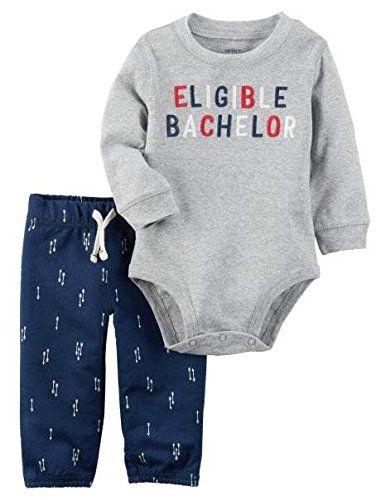 Carters Baby Boys Eligible Bachelor 2 Piece Set http://ift.tt/2jqrRXN