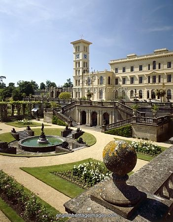 Osborne House, Isle of Wight, UK - former Island home of Queen Victoria and Prince Albert