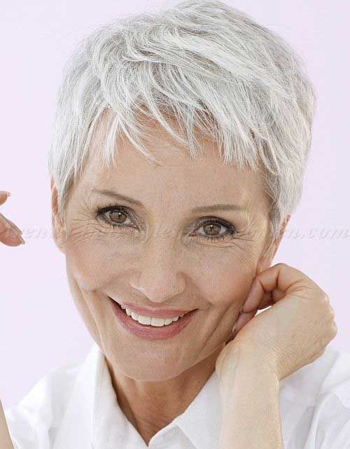 Fine Pixie Cuts for Over 50
