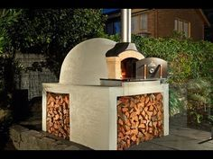 How to Build A Wood Fired Brick Oven - YouTube