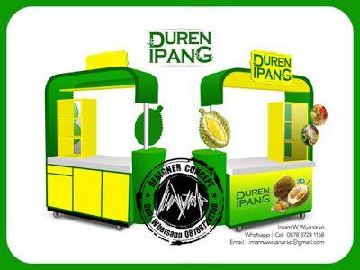 Desain dan Produksi Gerobak: Desain Gerobak Duren Ipang