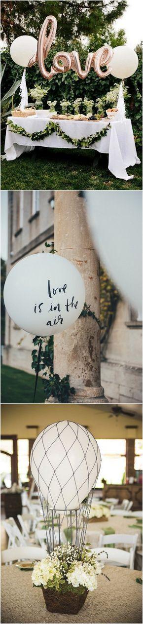 romantic wedding decoration ideas with balloons