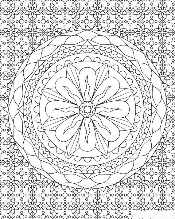 76 Best Colouring Pages For Adults Are All The Rage Images On Complicated Coloring Pages
