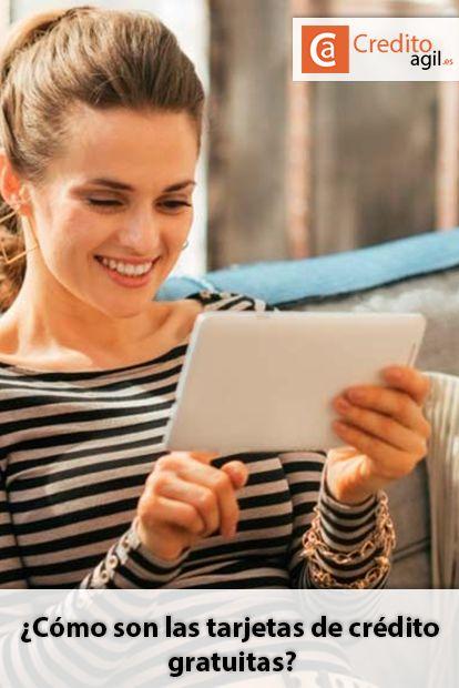 ¿Cómo solicitar una tarjeta de crédito gratuita? Donde se puede conseguir una tarjeta de crédito sin comisiones y sin avales. Financiación rápida para ti y tu familia. via @https://es.pinterest.com/creditoagiles/
