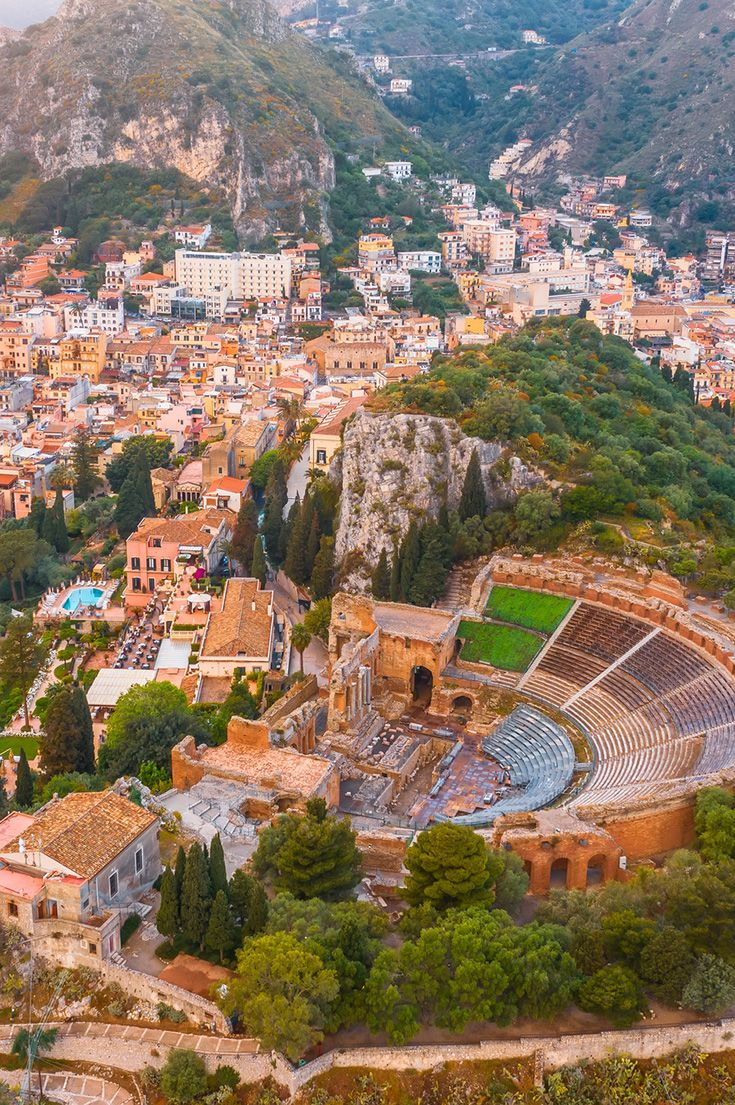 Taormina   Cool places to visit, Best places to travel, Taormina