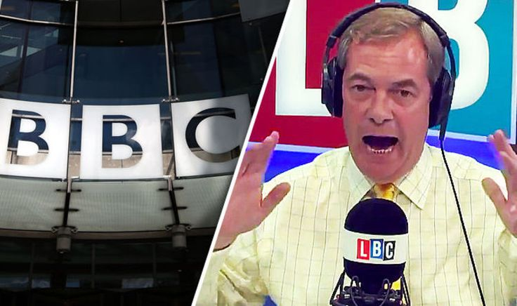"""NIGEL FARAGE has hit out at the BBC's """"biased"""" coverage of Brexit in a passionate outburst on his radio show, insisting """"Project Fear is back""""."""