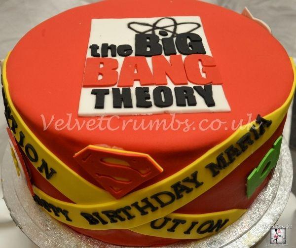 The Big Bang Theory cake. Yeah I would love this food my birthday.