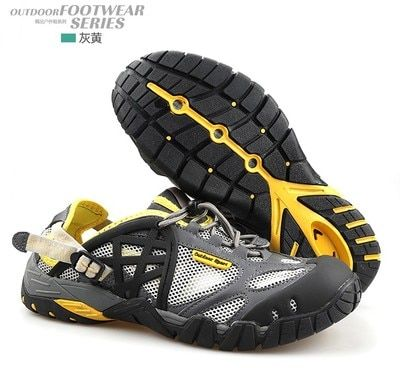Unisex Brand Outdoor Hiking sandals Men women beach Sandals mesh quick-drying trekking wading walking camping fishing Sandals