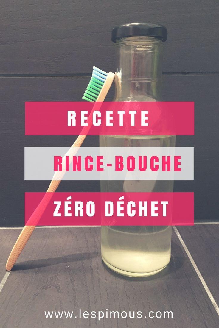 Une recette DIY de rince-bouche zéro déchet à réaliser simplement à la maison / An DIY receipe to make your own zero waste mouthwash #zerodechet #zerowaste