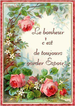 Citation ...   bonheur  ...