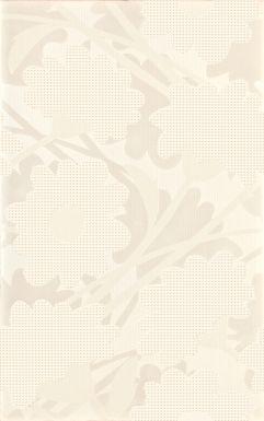 LAVANDE WHITE INSERTO FLOWER 25X40 - Cersanit
