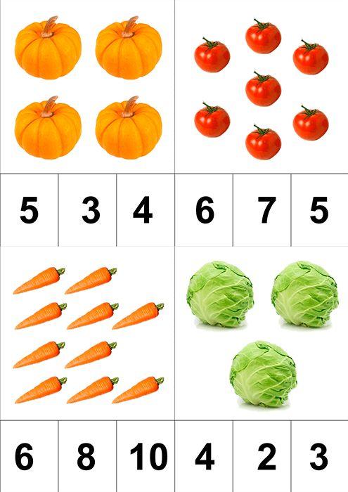 тематическое занятие овощи