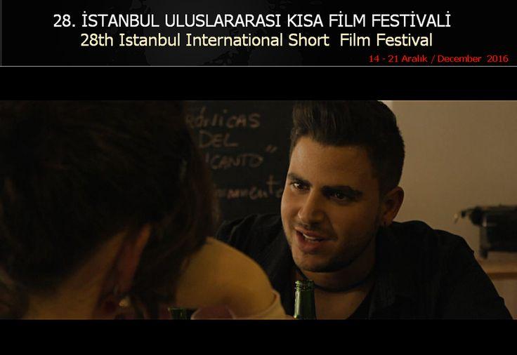 'Nadie' ha sido seleccionado por el Istanbul Short Film Festival para competir en su sección oficial internacional. El certamen celebra su edición número 28 del 14 al 21 de diciembre en la capital turca. www.istanbulfilmfestival.com  El cortometraje de Daniel León Lacave se proyecta el día 19. #CanariasenCorto
