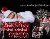 Christmas baby boy photos