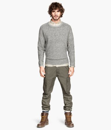 H&M Cargo Pants $29.95 - Entire outfit can be found at H&M