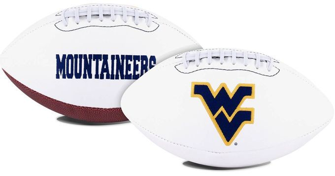 West Virginia Mountaineers Football Full Size Embroidered Signature Series
