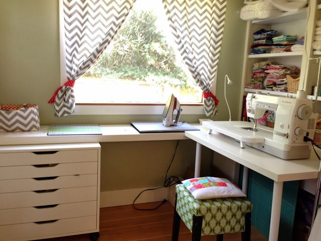 A Tour of my Humble Sewing Space - Quilting Tutorials and Fabric Creations | Quilting In The Rain