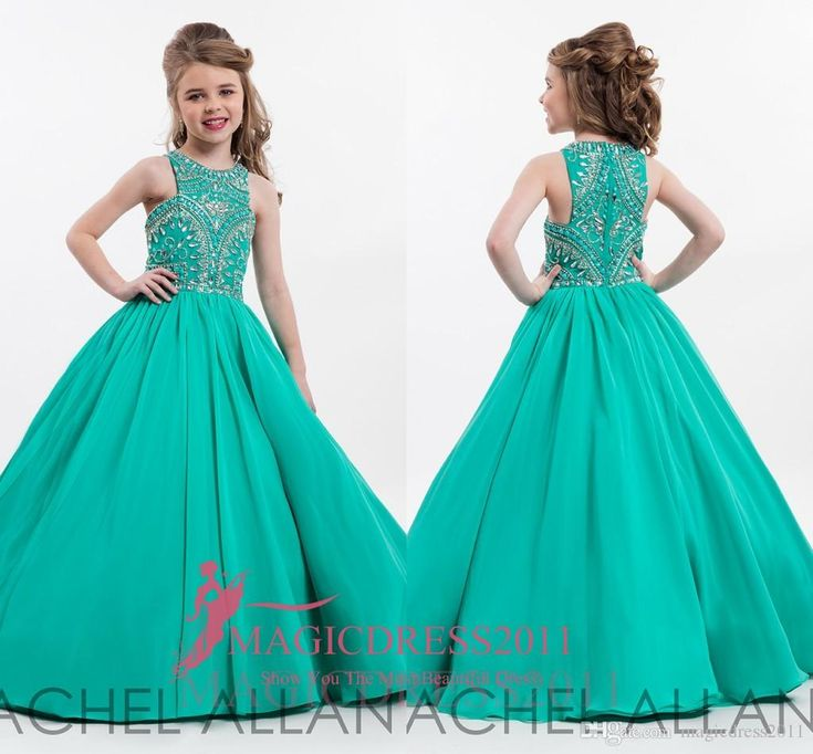 153 best Little girl's Pagent Dresses images on Pinterest | Girls ...