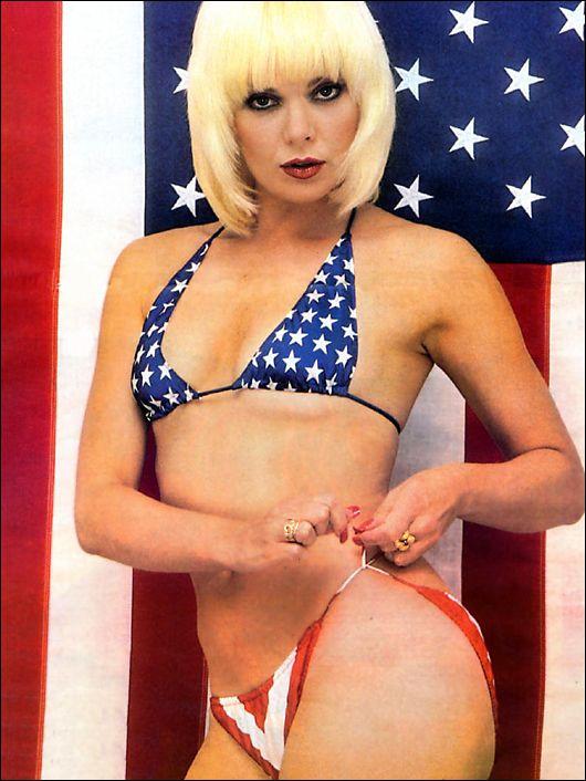 Jillian barbaras in a bikini