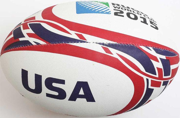 Ballon Rugby Supporteur USA RWC 2015 / Gilbert