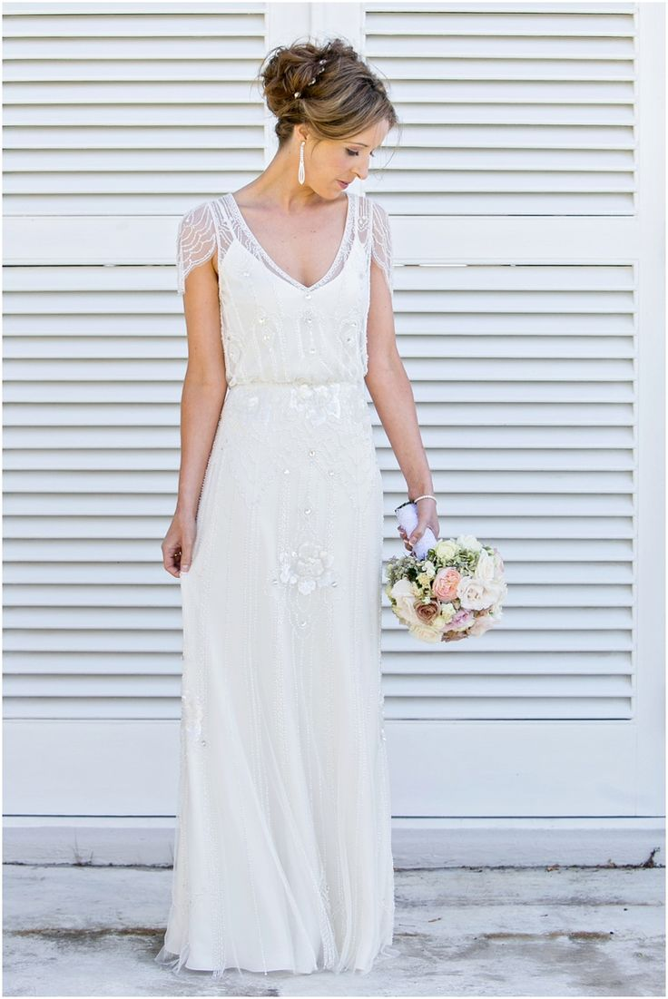 "Jenny Packham ""Eden"" dress in Ivory #jennypackham #eden #weddingdress"