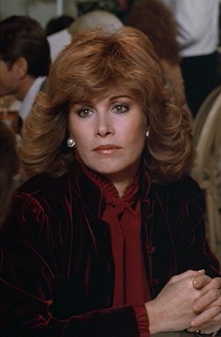 Pin by Monica Blom on Stefanie Powers | 80s hair, Red