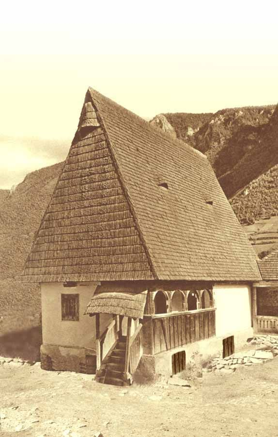 Traditional Romanian house - Apuseni Mountains, Transylvania