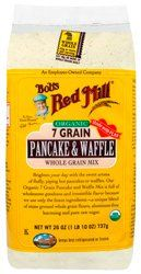 Bobs Red Mill Organic 7 Grain Pancake  Waffle Mix 26 oz 737 grams Pkg -- Read more at the image link. (This is an affiliate link) #BakingMixes
