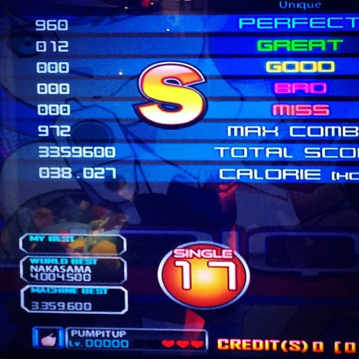 By tushkan4uk: Unexpected sight-read score  #piu #pumpitup #london #uk #gaming #pumpitupprime #arcade #andamiro #score #arcade #micrhobbit