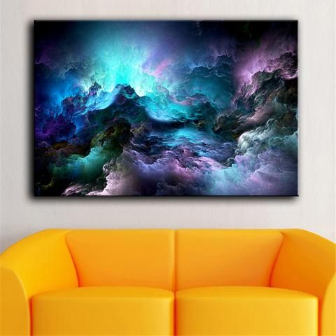 Abstract Clouds - Oil Painting Home Decor (No Frame) 8824214