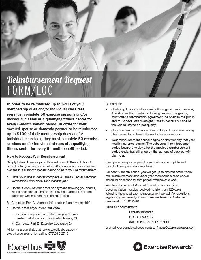 11 best Health Insurance Forms for Fitness Reimbursement images on ...