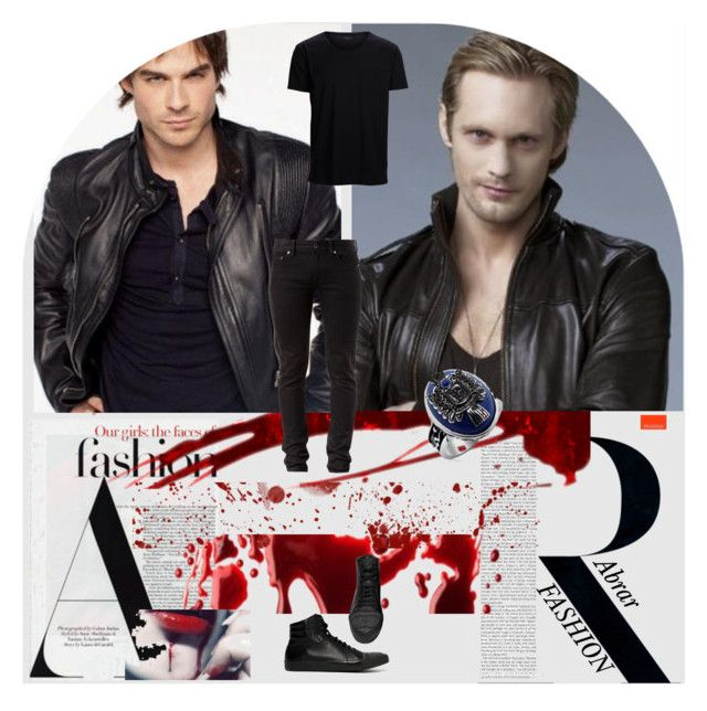 """""""Damon - the bad boy meeting another bad boy"""" by melbel1980 on Polyvore"""