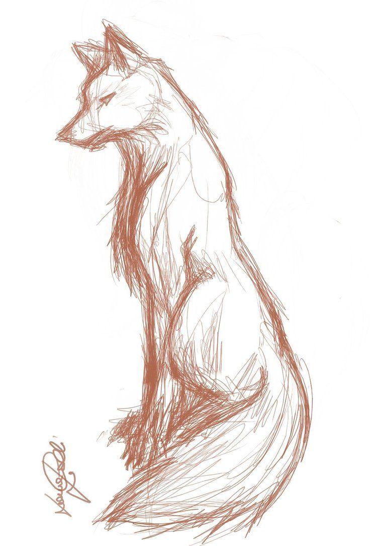 Wolf Sketch von ~ finnhuman97 auf deviantART. Zeichnung Illustration Inspiration –   #