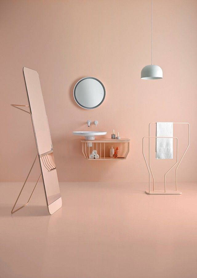 Bowl collection in #pastel #colors. #bathroom #design