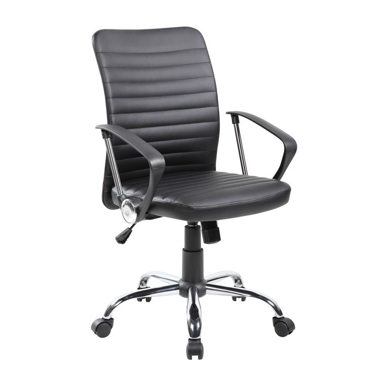 durable pvc home office chair. united blackbeige pupvc midback modern ergonomic computer chair black durable pvc home office