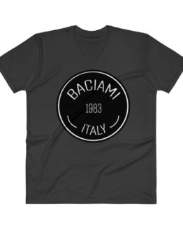 Baciami Men's Premium V-Neck T-Shirt