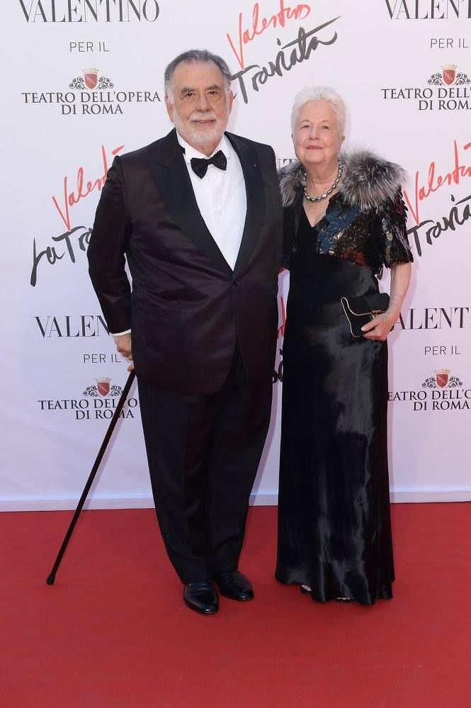 Francis and Eleanor Coppola attending the the opening of 'La Traviata' at Teatro Dell'Opera di Roma, on May 22th, 2016.